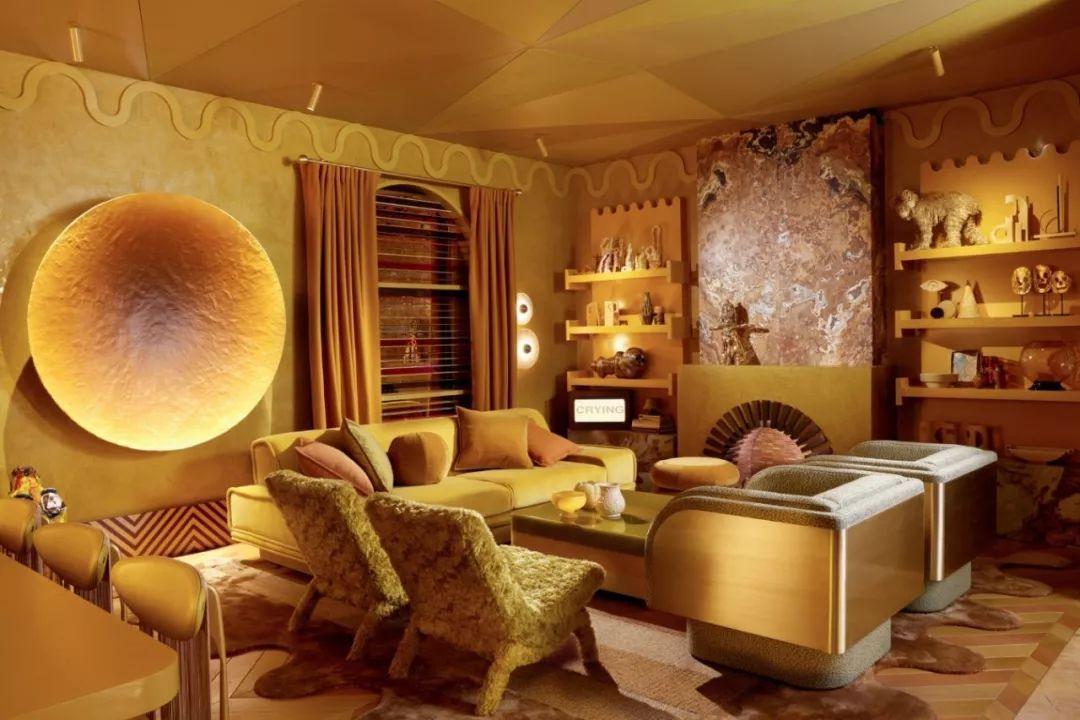 多的室内设计作品,在简约风的基础上加入很多装饰艺术风的软装陈设