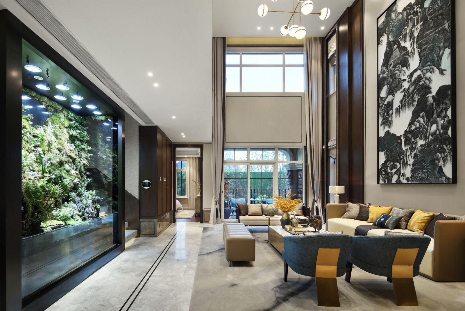 西安·龙湖紫杉别墅样板间 | 上海平仄室内设计事务所