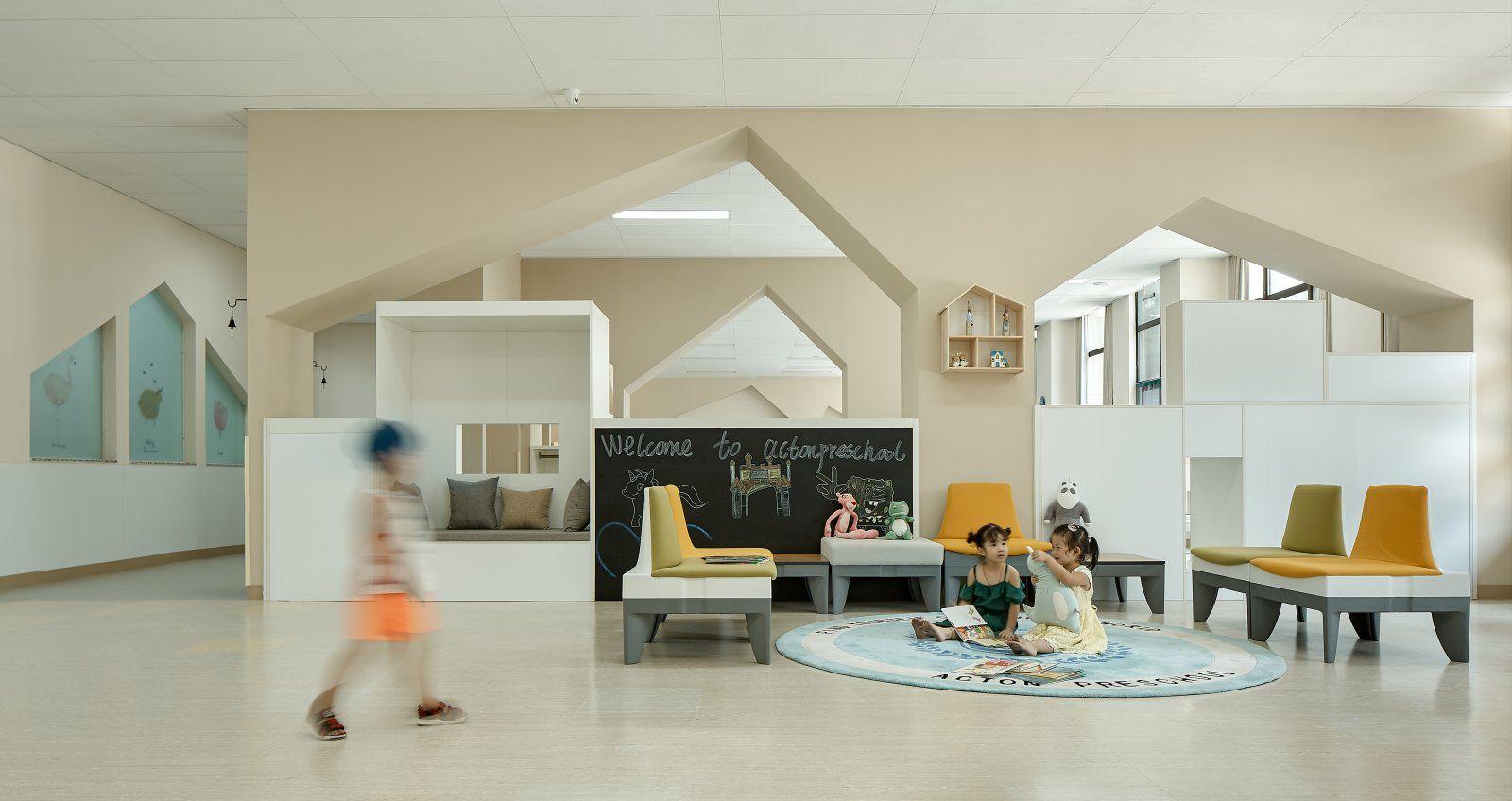 郑州阿肯顿幼儿园 | 郑州青草地装饰设计