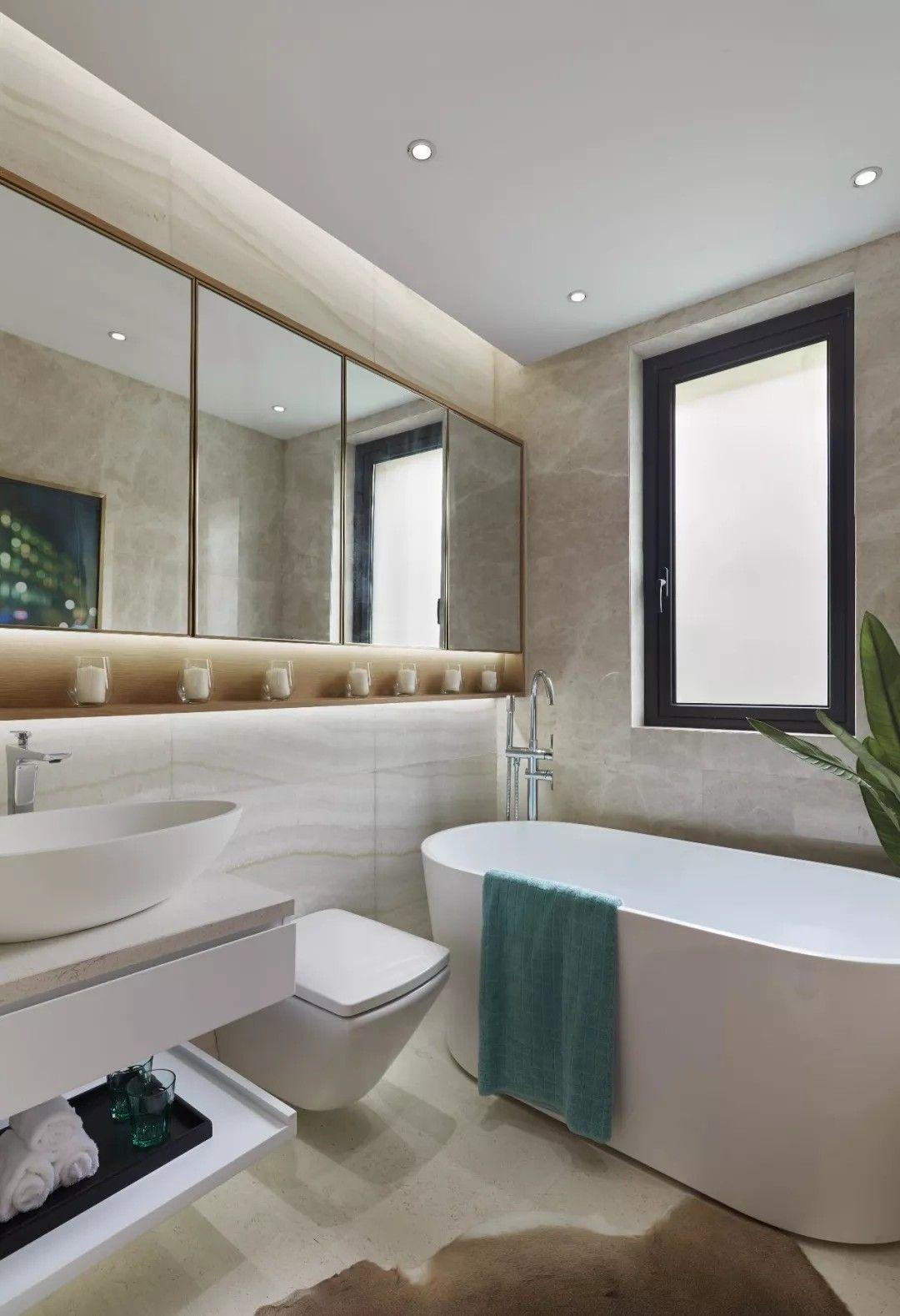 120㎡现代轻奢样板房,让精致来的刚刚好 | 昊泽空间设计