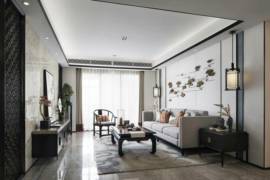 福建125㎡中式样板间-建发首院样板房C2户型 | 创时空设计
