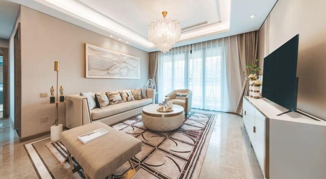 安徽亳州玉晖公馆140户型样板房 | 上海曼图设计