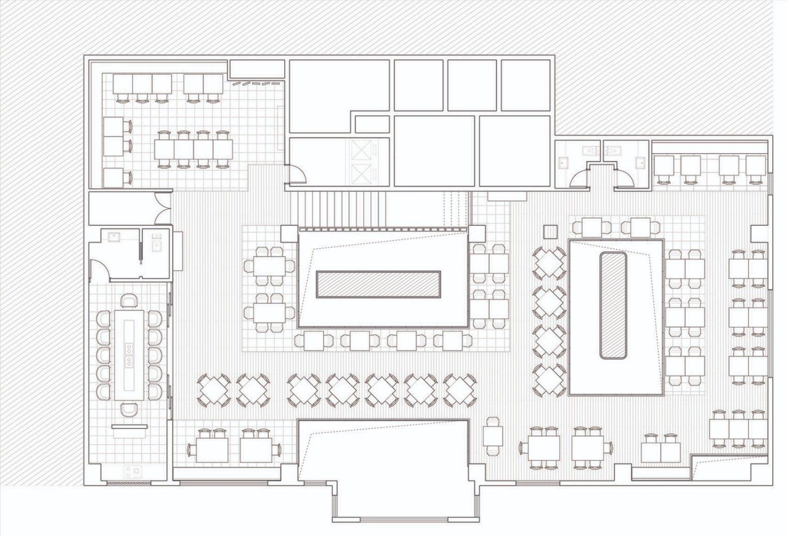 强调互动的餐厅·武汉萨丁伯格餐厅   上海问和答建筑设计