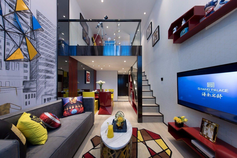LOFT风格样板房设计 | 伊派设计