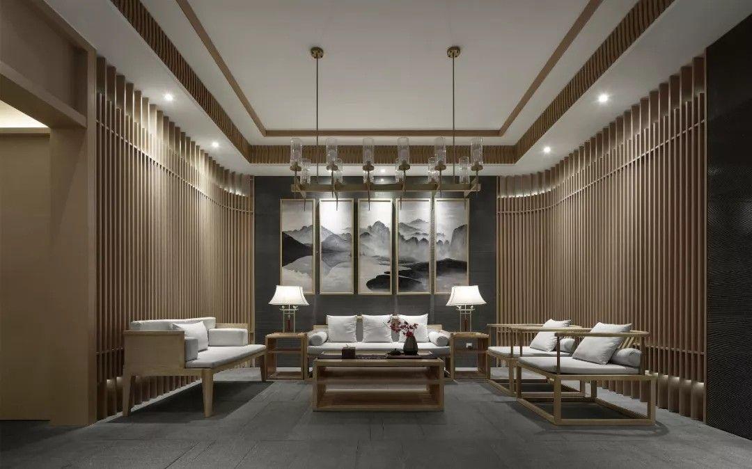 原木空间,空灵意境·南京上座SPA养生馆   观享际设计