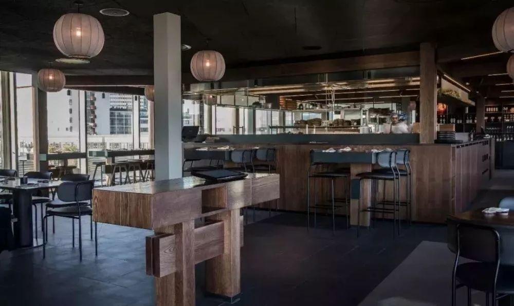 用现代北欧设计语境诠释日料,哥本哈根Sticks'n'Sushi餐厅  OEO Studio