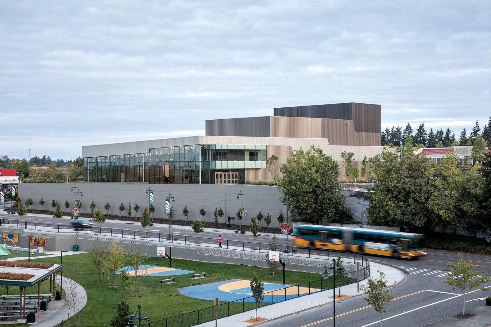 创造社区的新焦点·美国Federal Way表演艺术与活动中心 | LMN Architects