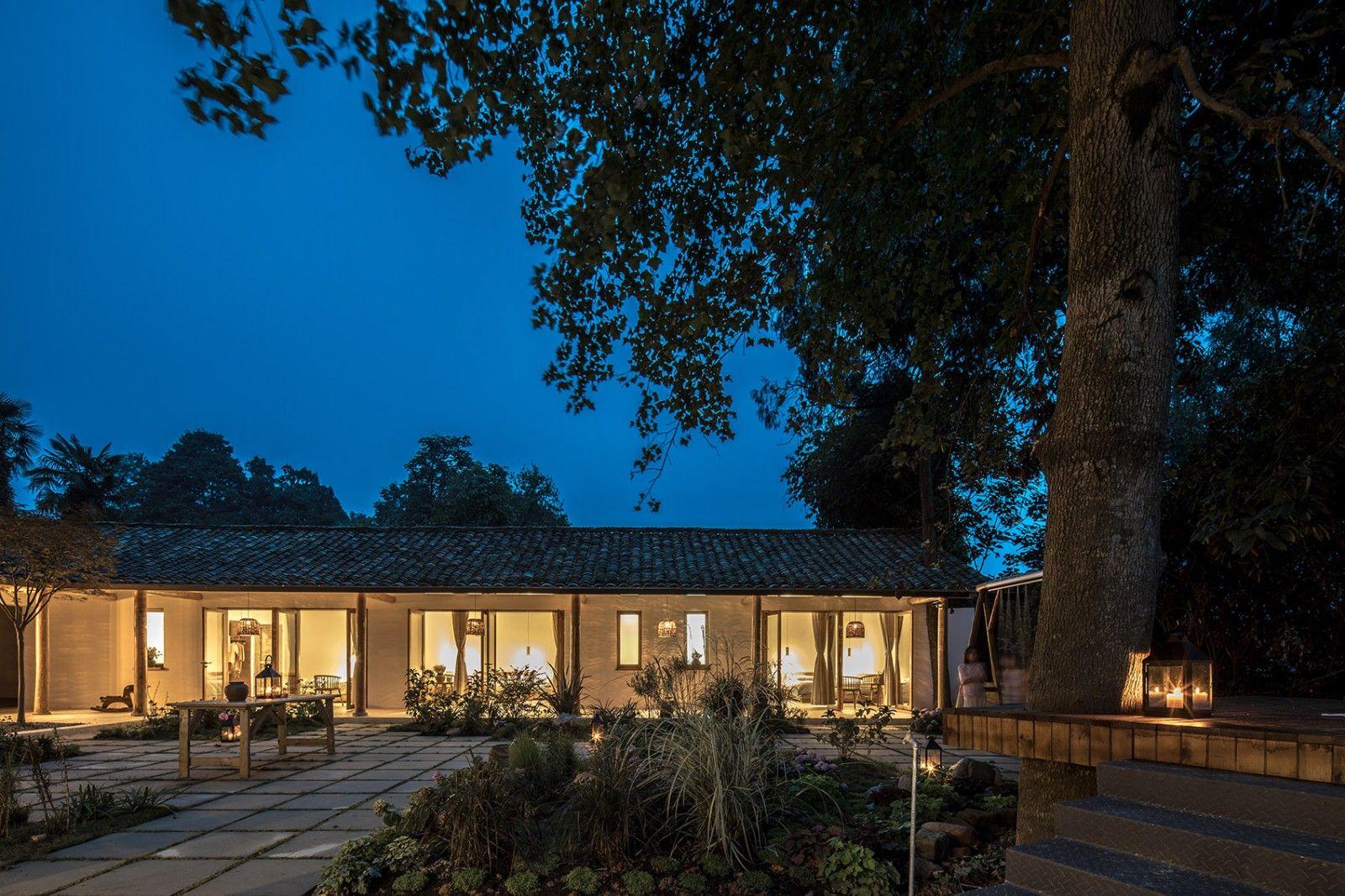 记忆里的悠悠茶香·四川-小茶院 | 使然设计|使然设计 - 5