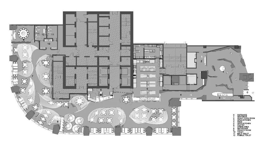 40万片琉璃鹤羽,打造主题餐厅新地标 | RMA 共和都市