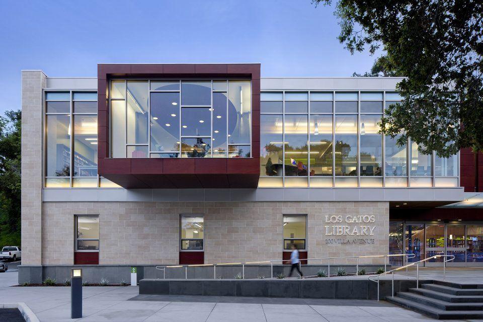 美国洛杉矶 Los Gatos 图书馆 | Noll&Tam