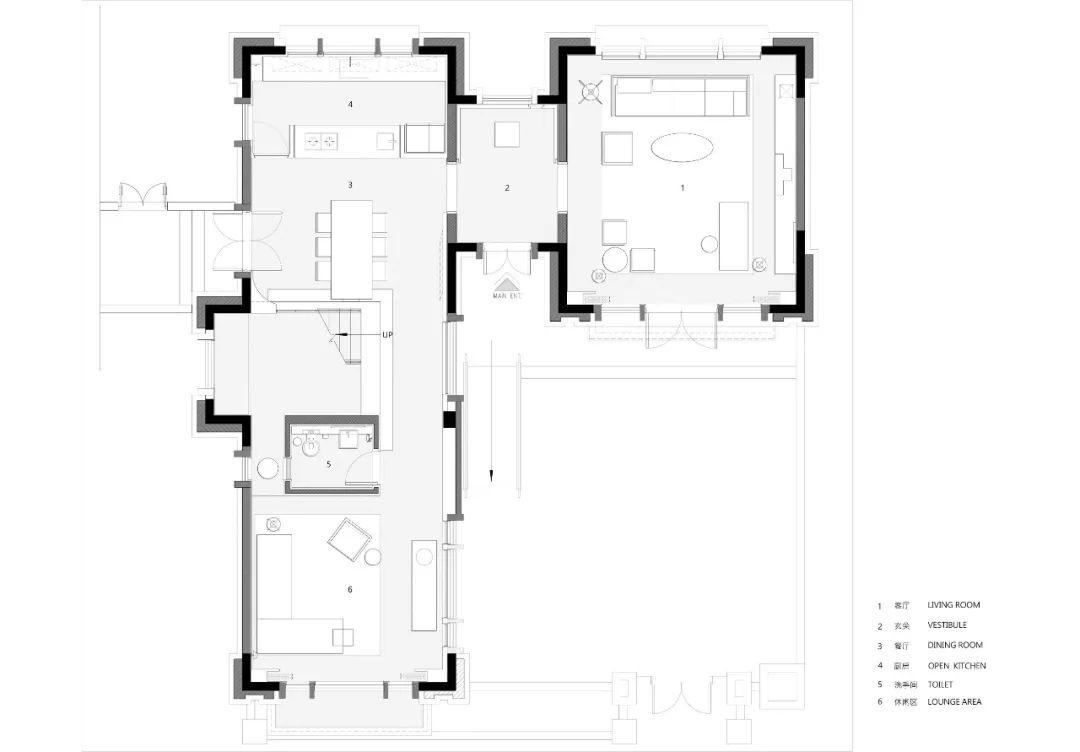 让设计更有高级感·天津滨海财富中心270m2别墅 | 共向设计
