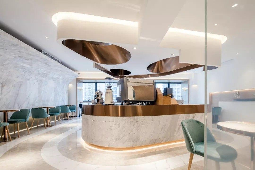 光影流动·深圳E2CAFE咖啡厅 | 埂上设计事务所