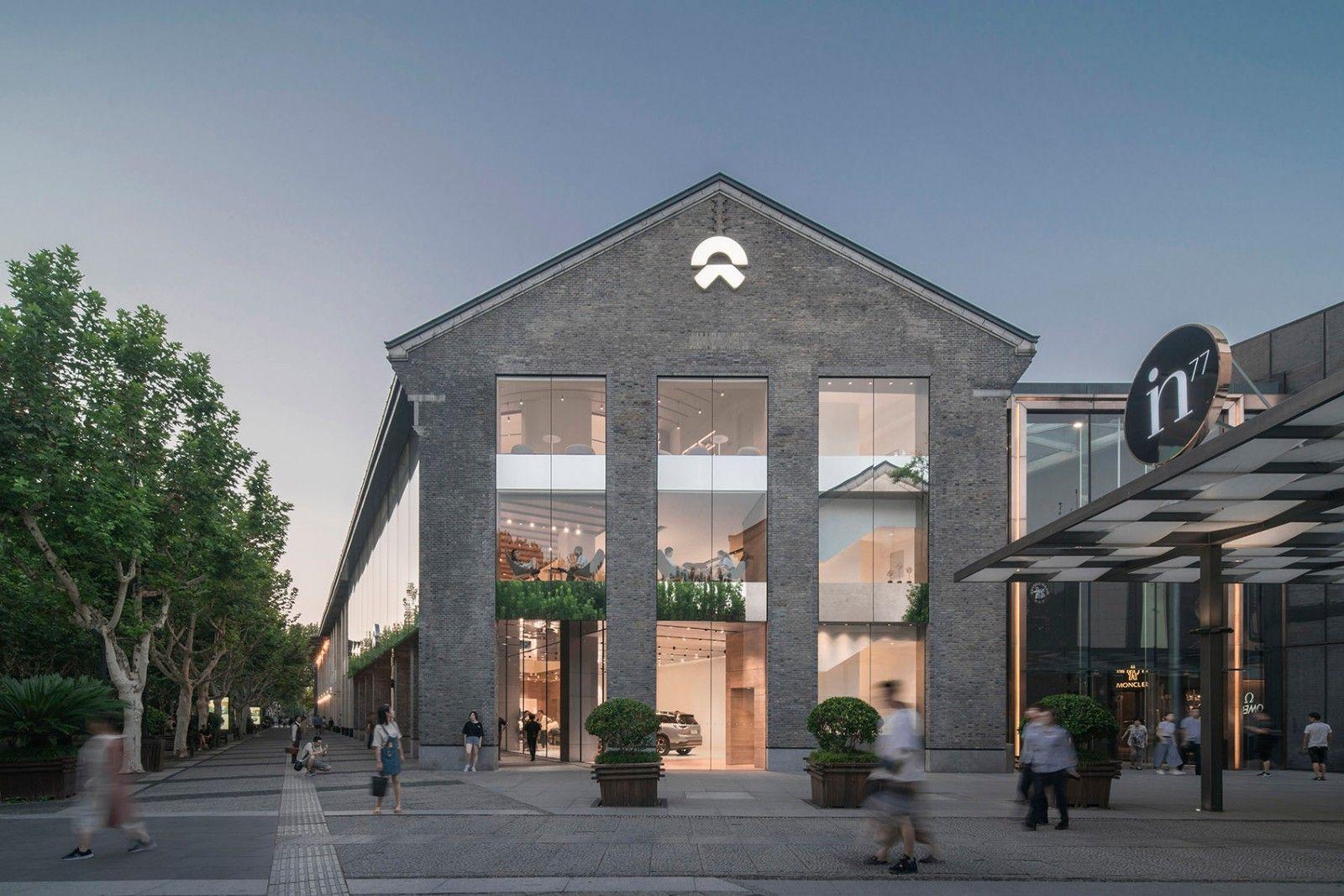 消除人与车的边界·杭州NIO蔚来旗舰展厅 | SHL建筑事务所