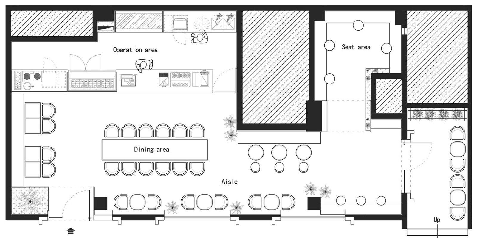 减法有层次,粗糙变细腻-重庆粟集轻食餐厅   朴开十向