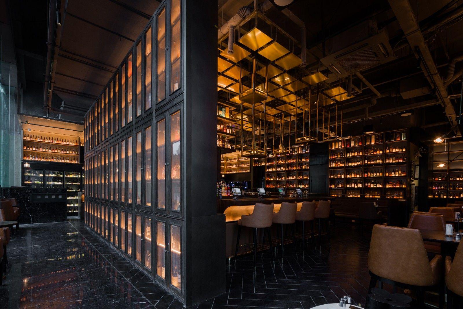 多维度立体酒柜打造酒类博物馆   宣驰设计