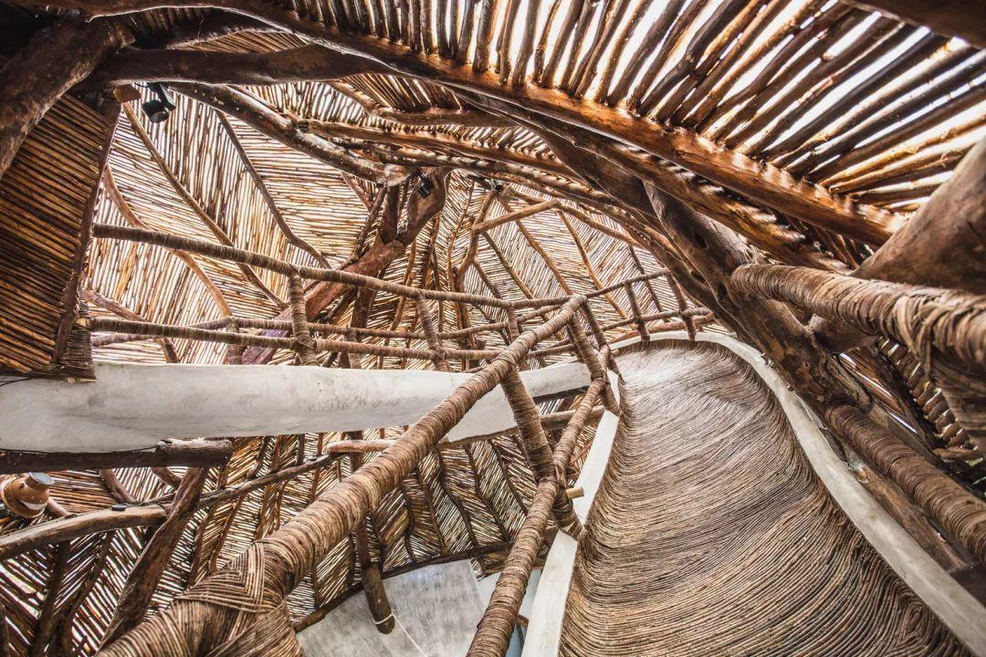 """""""旋涡""""设计   图鲁姆丛林中的 IK LAB 美术馆"""