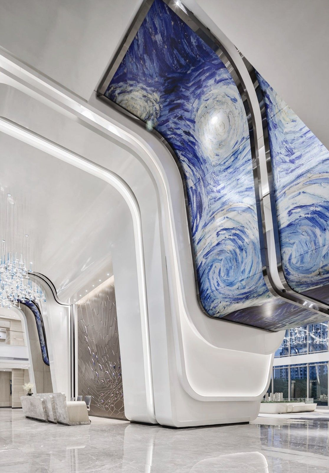 梵高的花园·奥林匹克花园销售中心 | 帝凯室内设计