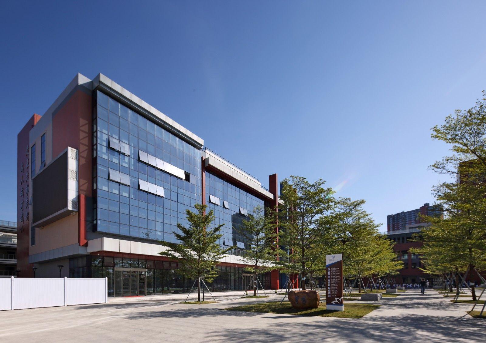 透过建筑节奏品味校园文化,深圳建文外国语学校设计 | 梁海滨