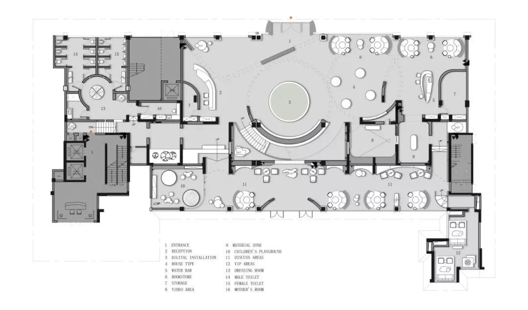 惠州华廷悦府售楼处 | SCD(香港)郑树芬设计事务所