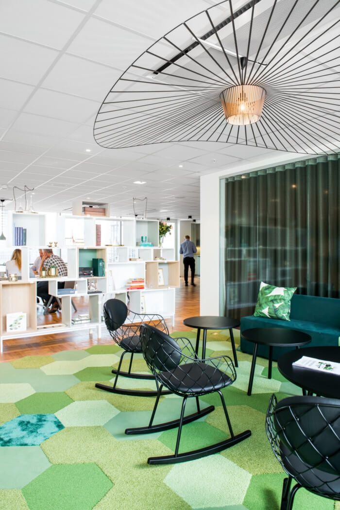 斯德哥尔摩害虫防治公司Anticimex办事处设计