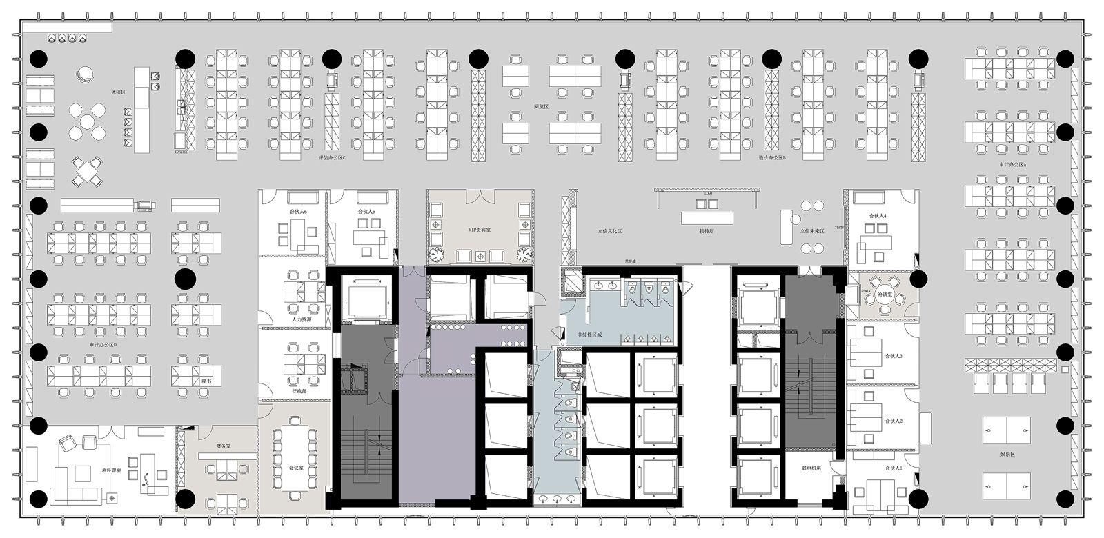 BDO立信湖北保利大厦 | 申远空间设计