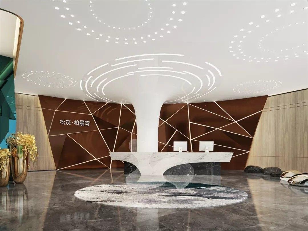 深圳松茂·柏景湾营销中心 | 深圳高文安设计公司