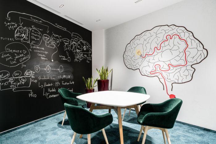波兰弗罗茨瓦夫软件公司Infor混搭风办公室设计