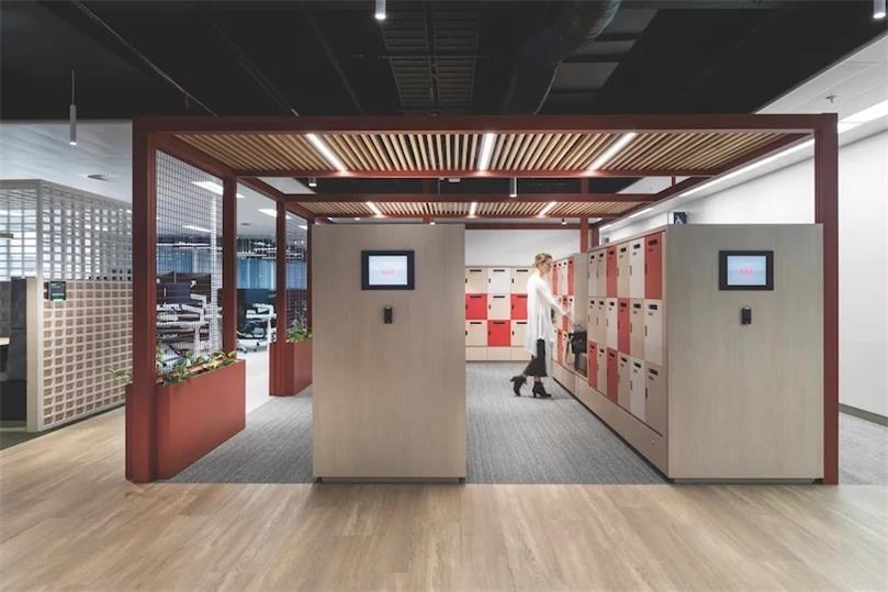"kettal为开放式工作空间设计了模块化""办公亭"""