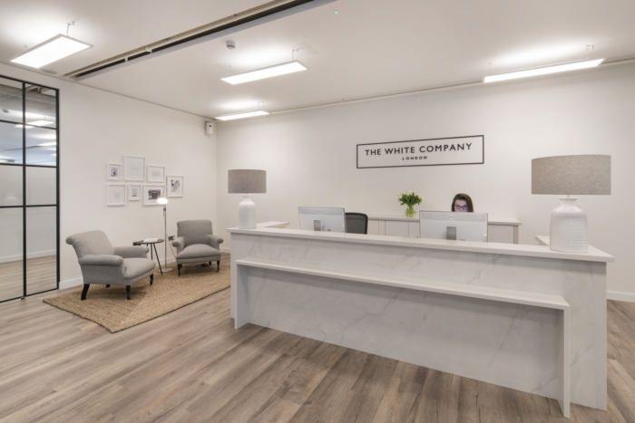 伦敦一家优雅精致的女装时尚办公室设计