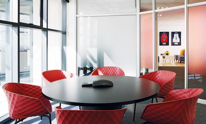南非约翰内斯堡NBA现代风格办公室设计