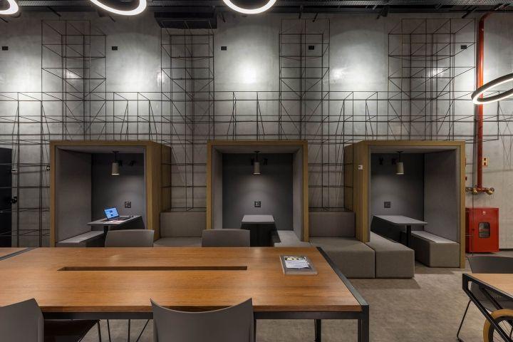 外星人的办公室,UFO联合办公空间设计