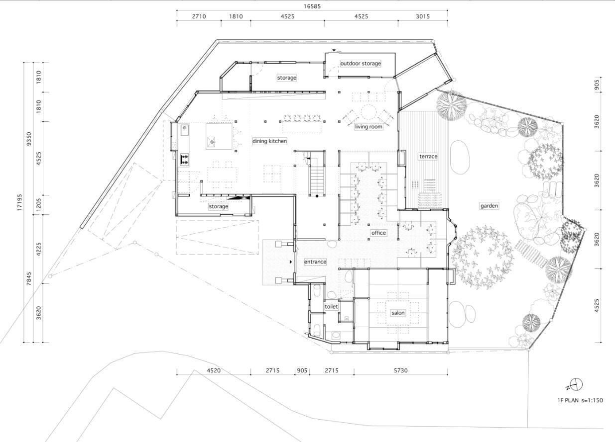 传统的日式风格,日本HOJO SANCI住宅办公两用空间设计