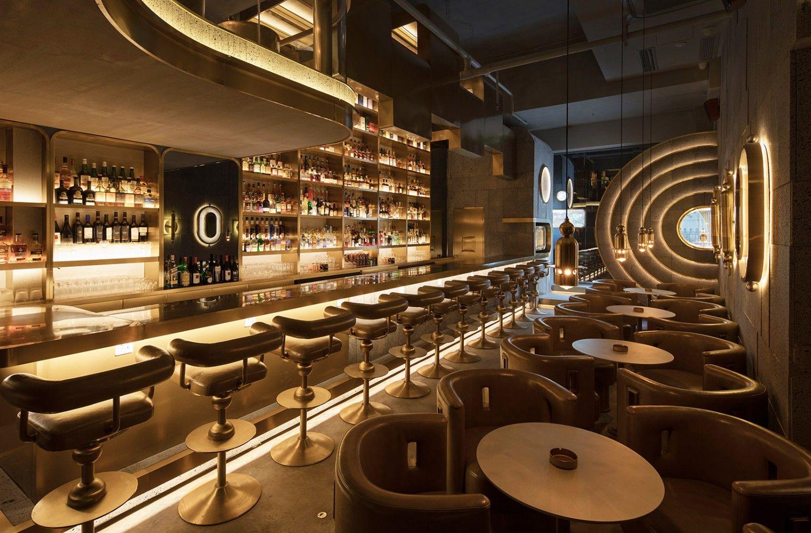 原始的安全感与金库容器,杭州炼金术酒吧 | 皮爱吉设计