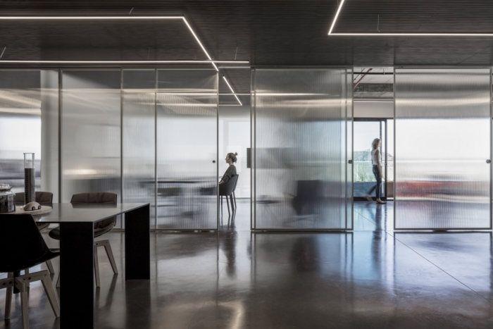 灵活动态人性化的办公室设计,以色列Basix总部设计
