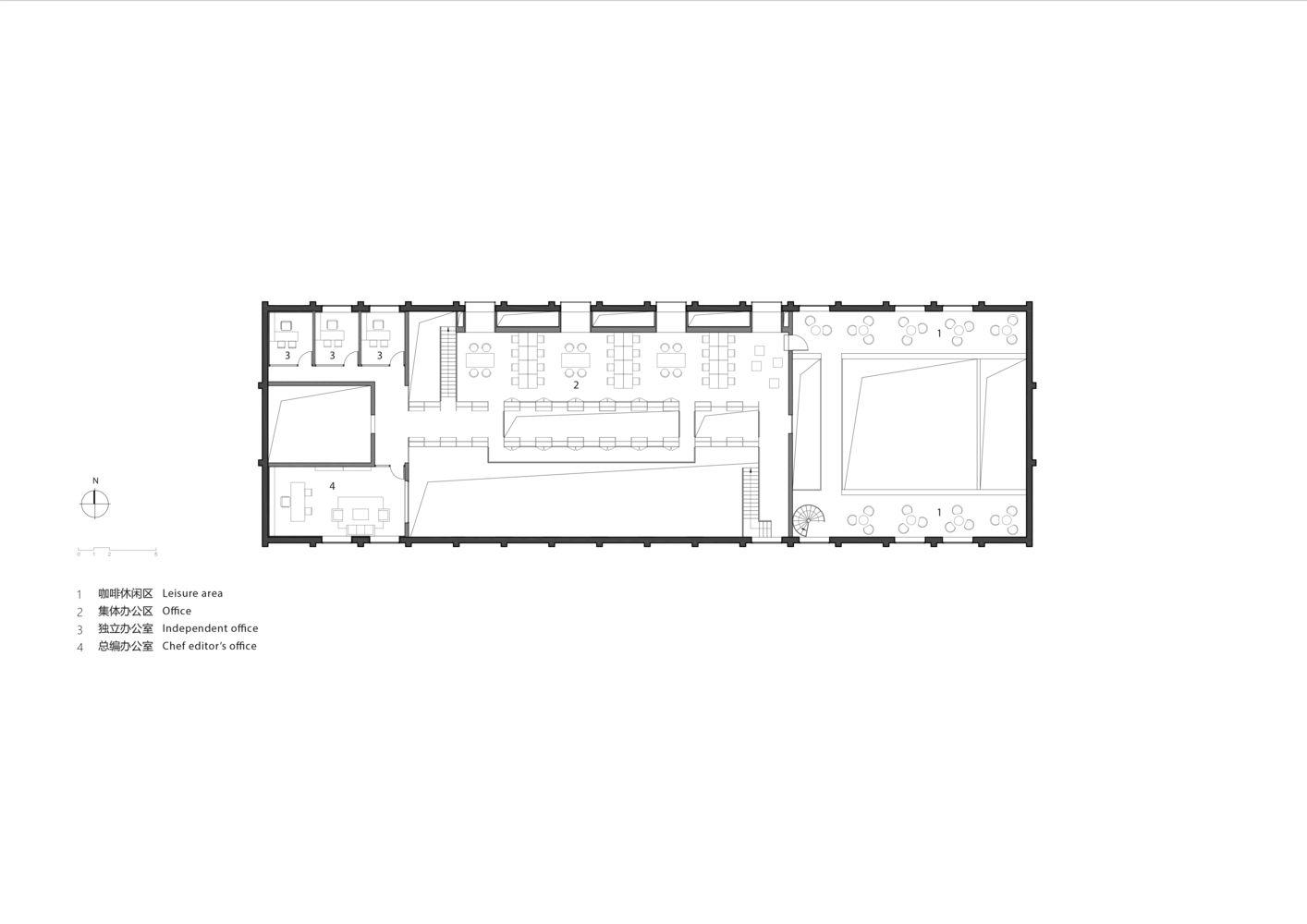 建筑改造之Lens 北京总部办公室设计