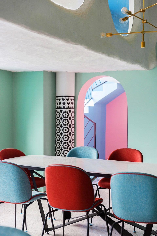 文化和艺术元素深植其中的跨界社交综合体,南昌土耳其轰趴馆 | 工墨设计