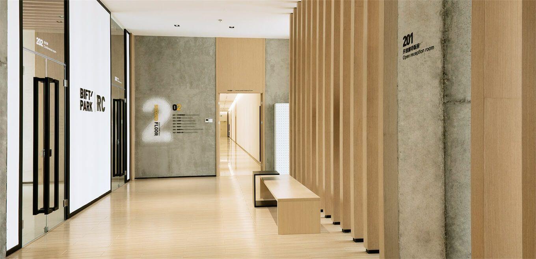 时尚工业风:北京服装学院容成时尚创意产业园办公空间设计| - 11