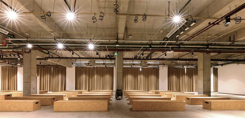 时尚工业风:北京服装学院容成时尚创意产业园办公空间设计| - 18