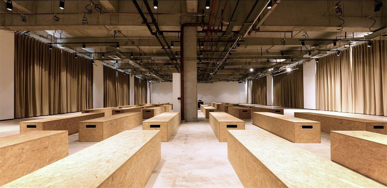 时尚工业风:北京服装学院容成时尚创意产业园办公空间设计| - 19