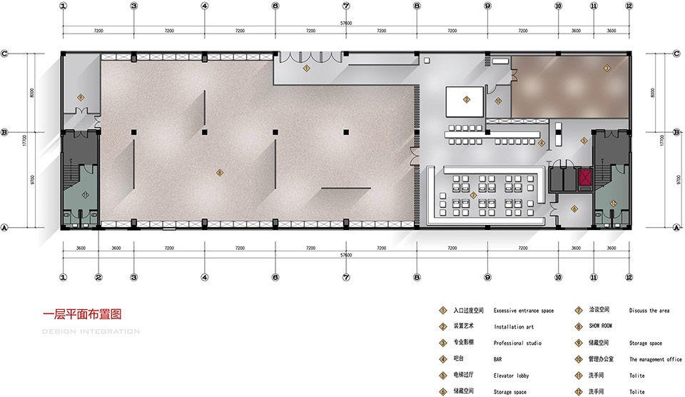 时尚工业风:北京服装学院容成时尚创意产业园办公空间设计| - 23