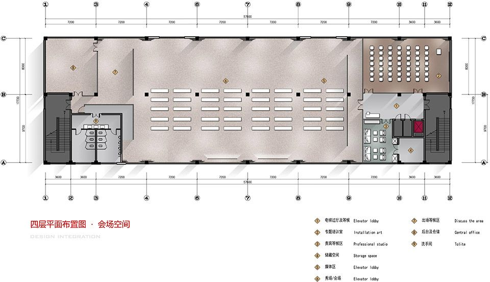 时尚工业风:北京服装学院容成时尚创意产业园办公空间设计| - 26