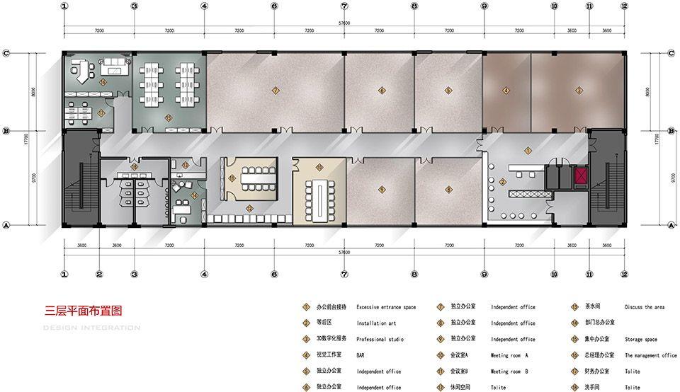 时尚工业风:北京服装学院容成时尚创意产业园办公空间设计| - 25