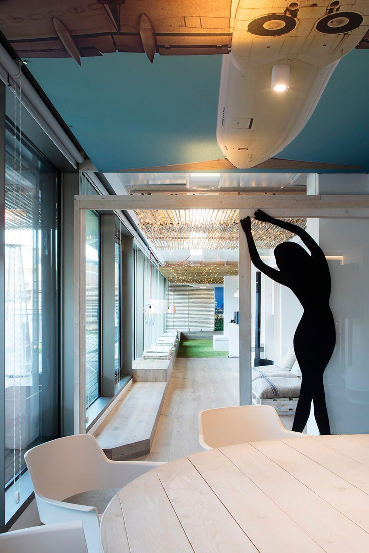 地中海沙滩风,巴塞罗那Billy Mobile办公室设计| - 11