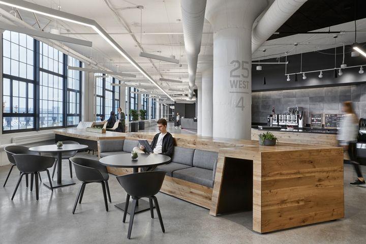 与年轻人为邻,锐步波士顿总部设计