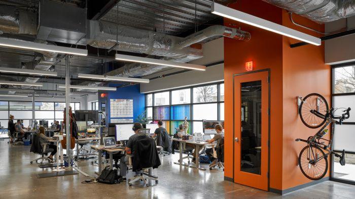色彩与个性,德克萨斯州网络开发公司Sumo办公室设计