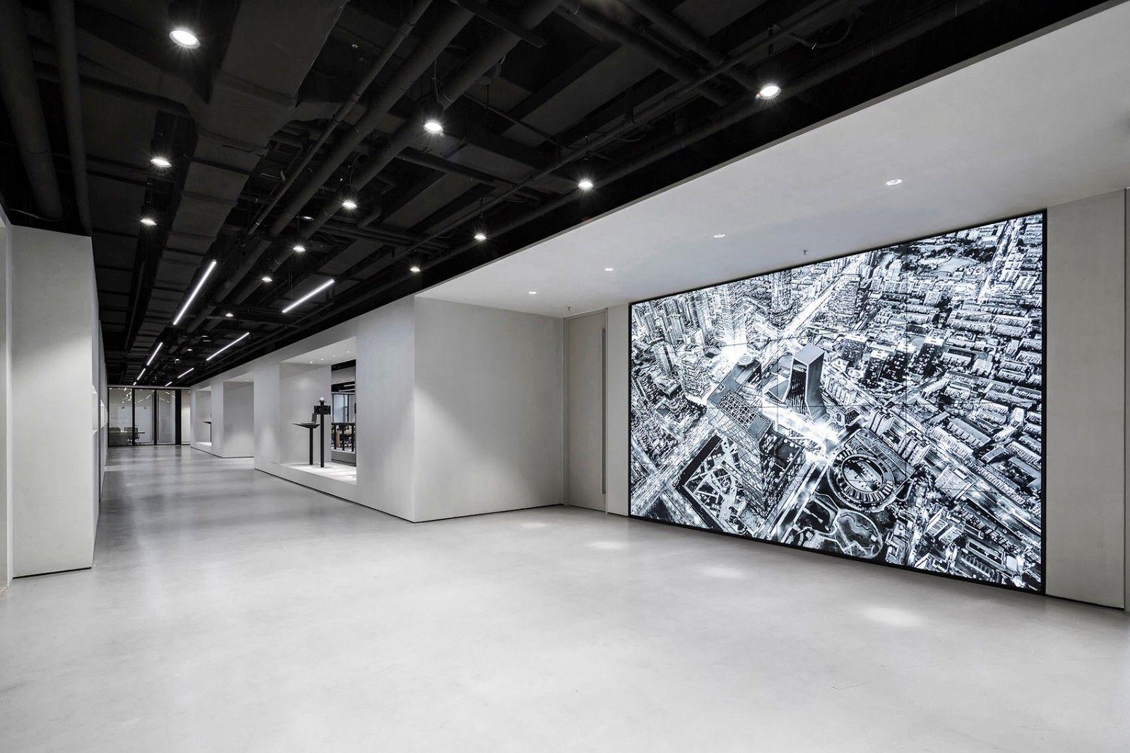 在博物馆中办公,北京华成智云总部 | 班得建筑