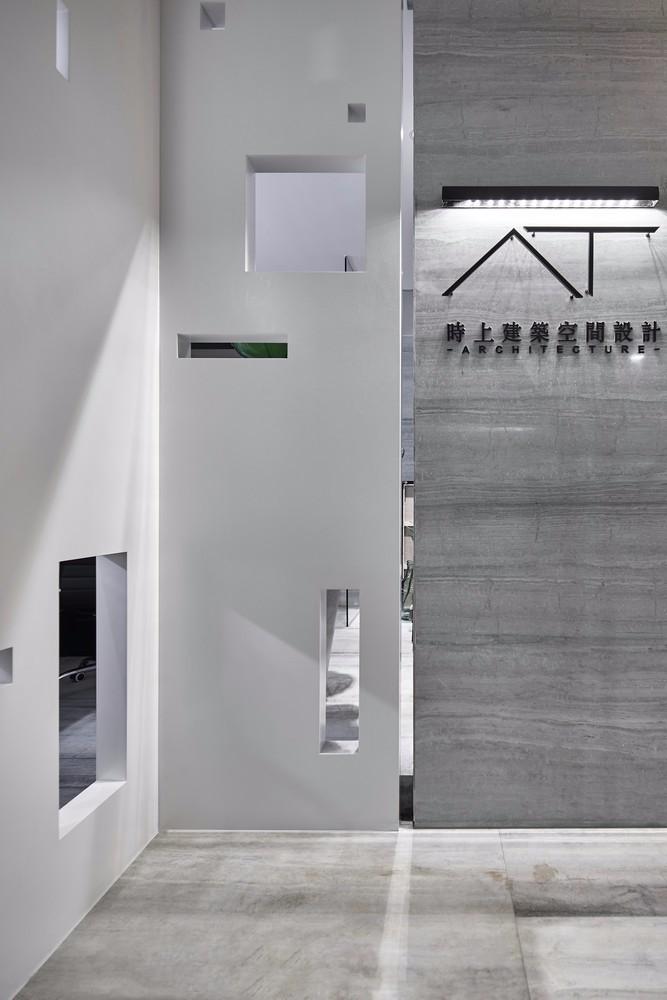 黑盒子+隧道设计 再也不用羡慕别人家的办公室 | 时上建筑空间设计。