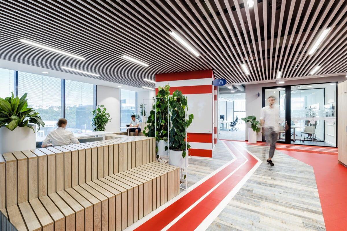 波兰Nordea IT斯堪的纳维亚办事处设计