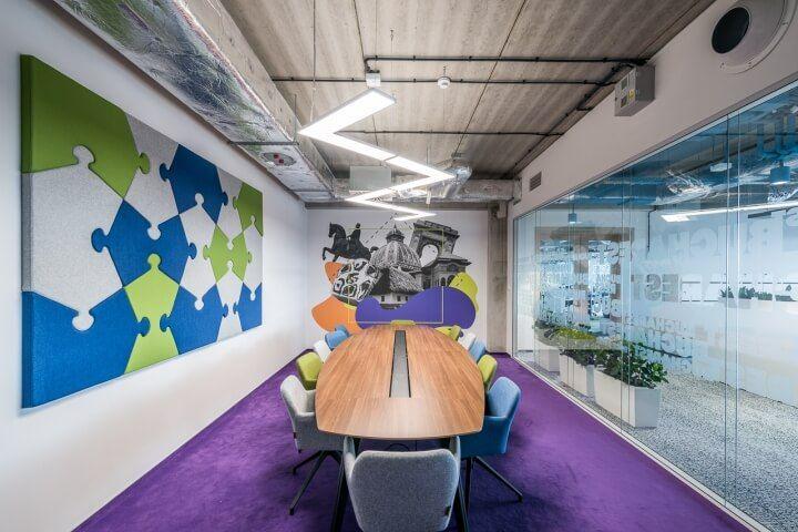 活力四射:跨境电商平台OLX集团波兰新总部设计