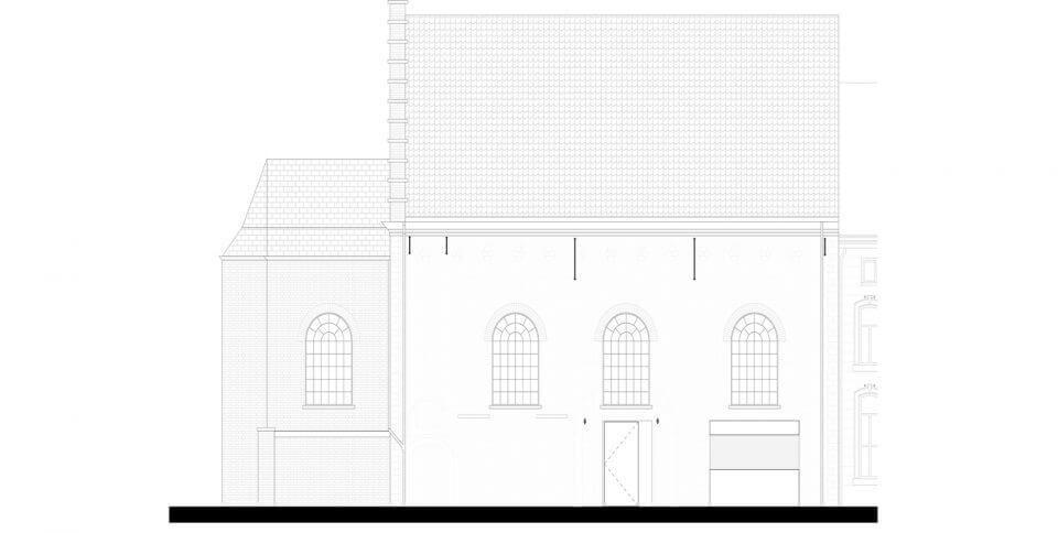 教堂建筑改造之The Waterdog办公室设计